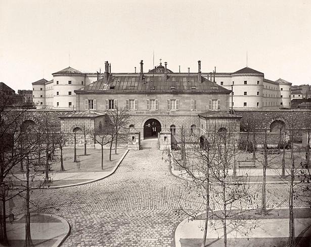 « Maison des jeunes détenus», prison de la Petite Roquette, Paris, photo Hippolyte-Auguste Collard (1811–1887)