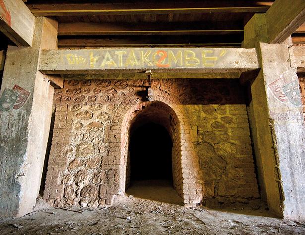 Le camp des Milles, die katakombe, photo Mémorial du Camp des Milles