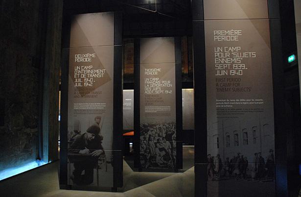 Le camp des Milles, museographie, photo Mémorial du Camp des Milles