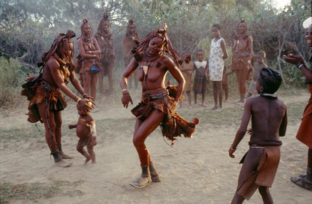 « Les années Ovahimba » de Rina Sherman