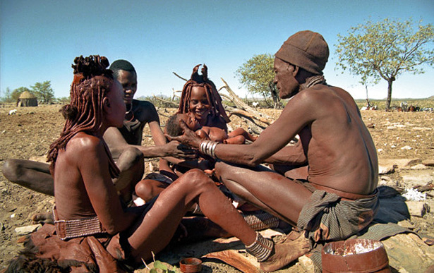 Ma vie avec les Ovahimba, photo de Rina Sherman