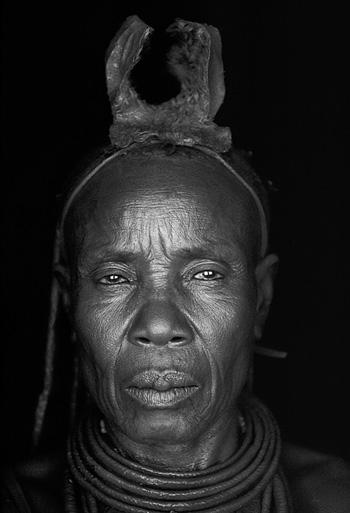 Photo Rina Sherman, femme ovahimba