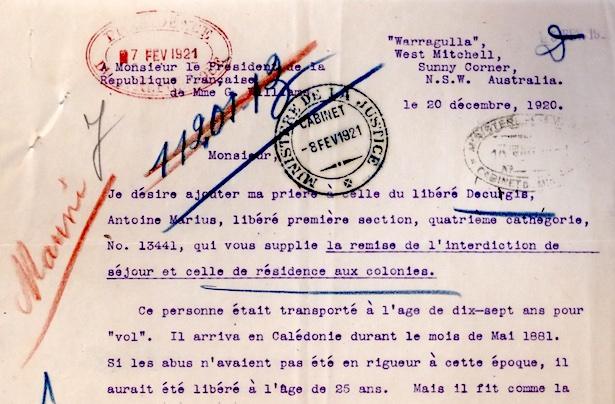 Archives nationales d'Outre-Mer (cote H/1425/decugisant)