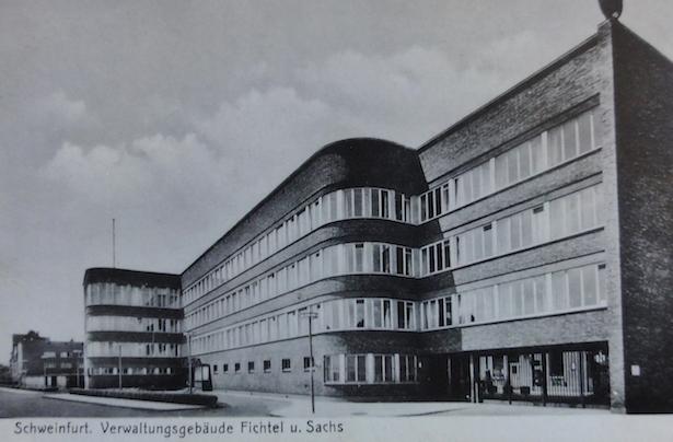 Bâtiments administratifs de la Société Fichtel & Sachs en Bavière, collection Christophe Woehrle