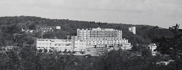 Cité sanitaire de Clairvivre, lieu de repli des hôpitaux et des Hospices civils de Strasbourg sous l'Occupation