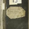 L'inscription de Dreyfus sur les registres d'écrou de la prison militaire du Cherche-Midi