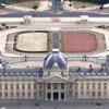 Traces des combats du 25 août 1944 à la Bibliothèque de l'École militaire de Paris