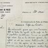 Rapport moral du commissaire de police de Pithiviers, le 20 mai 1940