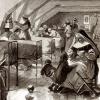 Le quartier des nourrices de la prison Saint-Lazare en 1902